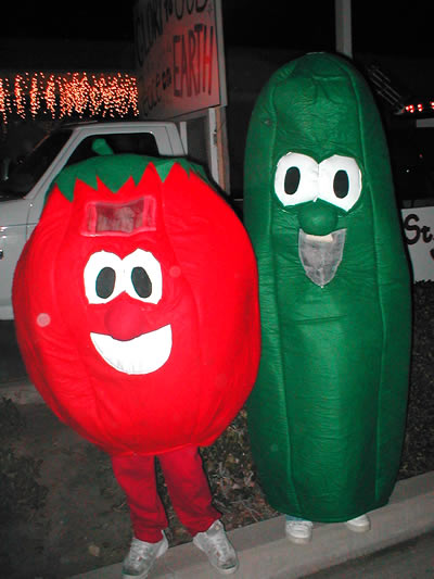 healthy fruit and veg fruit costumes